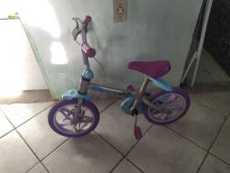 Título do anúncio: Bicicleta infantil Frozen