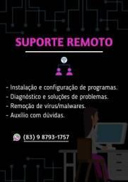 SUPORTE ONLINE P/ SEU PC
