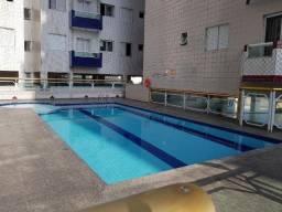 Apartamento 1 dormitório próximo a praia, com piscina Vila Mirim