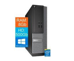 Título do anúncio: Computador Dell 3020 Core I5-4570 8gb 500gb Win10 Hdmi