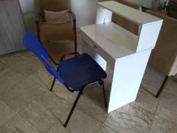 Mesa + cadeira para computador / laptop / notebook