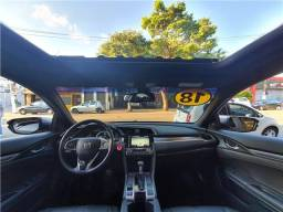 Honda Civic 2018 1.5 16v turbo gasolina touring 4p cvt