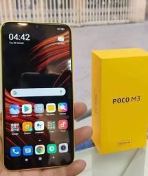 Xiaomi Lançamento - 128 / 4 Gigas - 48 MP - Novo com nota - Poco M3 128