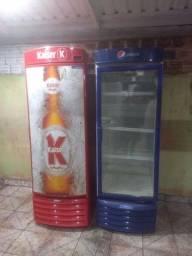Kit Cervejeira e Espositora semi novos