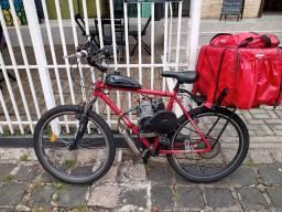 Bicicleta motorizada 4tempos automática
