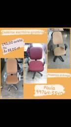 Cadeiras escritório giratórias (entrego)