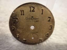 Mostradores de relógio antigo para restauro