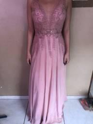 Vendo lindo vestido rose social