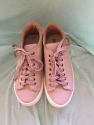 Tênis that?s it rosa tamanho 34, usado uma única vez