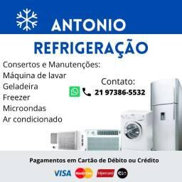 Refrigeração Antonio - Consertos e manutenções