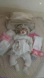 Baby Reborn Menina em ótimas condições <br>