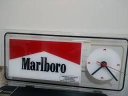 Relógio Marlboro Acrílico Original