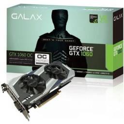 Título do anúncio: Vendo ou Troco 1060 6gb Galax