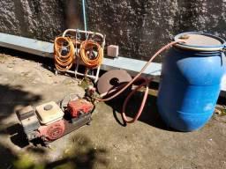 Moto pulverizador/lavadora