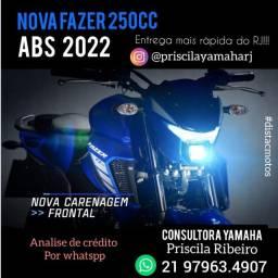 Título do anúncio: Nova Fazer 250cc ABS Yamaha 21/22.