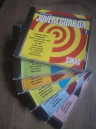 6 CD s Jovem Guarda Coleção