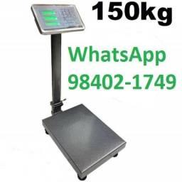 Balança Plataforma 150 Kg com bateria[nova]