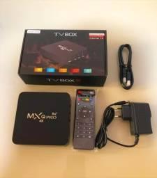 Tvbox 4k com 8 RAM/128GB memória/5G