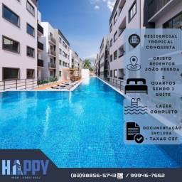 Apartamentos no bairro do Cristo perto de tudo! Oportunidade a partir de R$ 116 mil