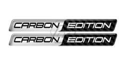 Adesivo Resinado 3d Carbon Edition