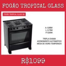 Fogão Tropical Glass