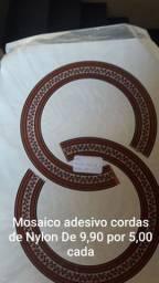Mosaico p/ Violão Adesivo cordas de Nylon