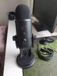 Microfone Condensador USB Blue Yeti
