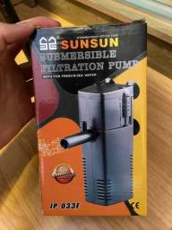 Bomba de Filtro Aquário Sunsun