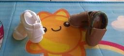 Kit infantil Sapato + Sandalia Masculino