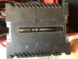 Amplificador automotivo 12v Banda Ice 3500