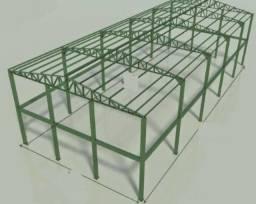 Contrata - se montador de estrutura metálica
