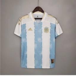 Título do anúncio:  Camisa Oficial Seleção Argentina Adidas 21/22 Edição Especial Maradona