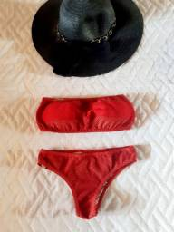 Biquíni vermelho