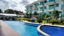 Apartamento com 2 dormitórios à venda, 55 m² por R$ 165.000,00 - Carapibus - Conde/PB