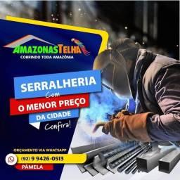 VERGALHÕES,PERFIS,BARRA CHATA E REDONDA COLUNAS somos de Manaus