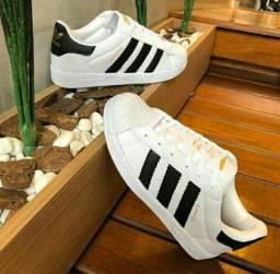 Tênis Adidas Superstar (34 ao 43)
