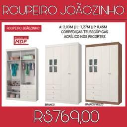 Roupeiro Joãozinho Multiuso 039