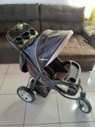 Carrinho de bebê Kiddo 3 rodas