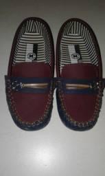 Sapato infantil mocassin