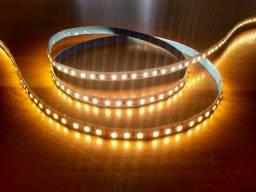 Título do anúncio: Fita LED Alta Reprodução de Cores 10W/m + Driver Bivolt