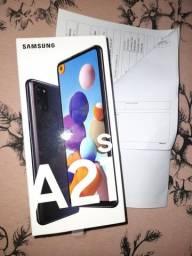 Samsung A21s Branco (Novo)