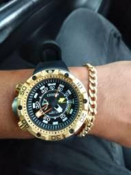 Relógio citizen New Aqualand customizado