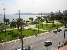 Título do anúncio: Apartamento Espaçoso de 1 Dormitório com Vista Mar na Ponta da Praia em Santos