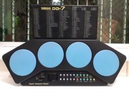 Bateria Yamaha DD7 - 99 ritmos Pré Programados -Com fonte