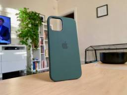 Silicone Case Apple iPhone 12 Cyprus Green