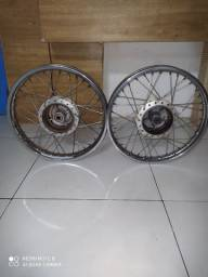 Rodas de ferro Fan125 2013