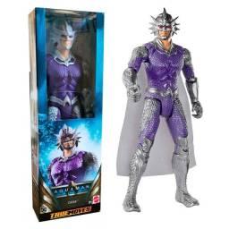 Boneco Orm 30 Cm True Moves Aquaman - Mattel