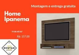 """Painel Home Ipanema tv até 42"""" ENTREGA GRÁTIS PAINEL PARA TV"""