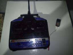 Radio Fly Sky Aeromodelismo Fs T4b 4canais