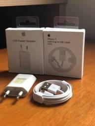 Título do anúncio: Fonte E Cabo Usb Foxconn Original Para iPhone 5s 6 7 8 X 11